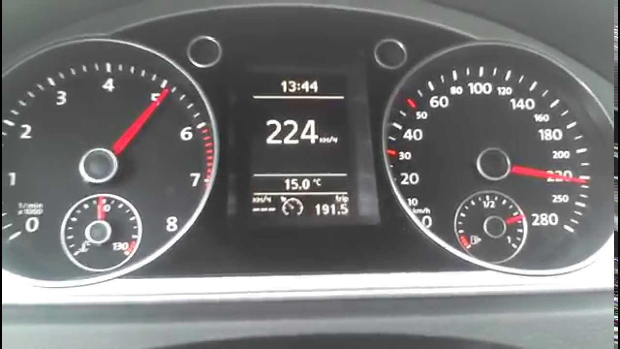 VW Passat CC 1.8 tsi 230 km/h - YouTube