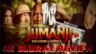 Jumanji Welcome to the Jungle 4K Bluray Review I HDR 10 I Atmos