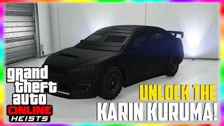 """GTA 5 Heist DLC: NEW How to UNLOCK the """"Karin Kuruma"""" in Freemode! """"GTA 5 Heist Vehicle Gameplay"""""""