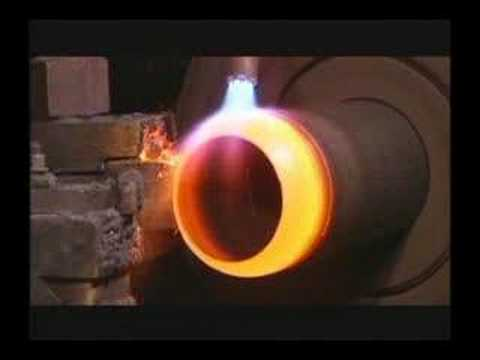 Making Worthing Steel Scuba Cylinders