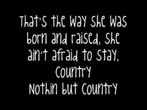 She's Country-Jason Aldean-With Lyrics!! Music Videos