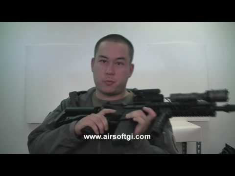 Airsoft GI - Airsoft GI Daniel Defense Custom RIS II Full Metal AEG