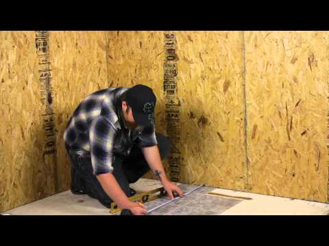 How to Install Peel & Stick Vinyl Flooring Over an Existing Floor : Flooring Help