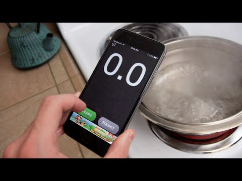 iPhone 6 Boiling Hot Water Test - Will it Survive?