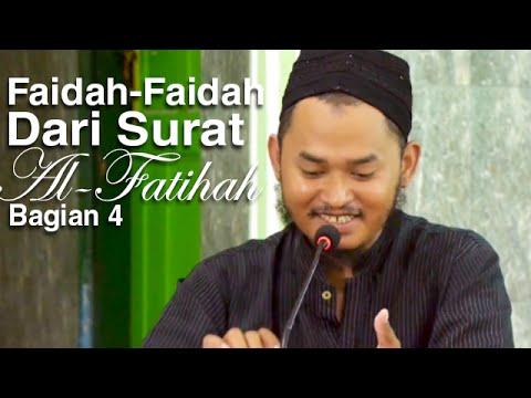 Ceramah Islam: Faidah-Faidah Dari Surat Al-Fatihah 4 - Ustadz Ari Wahyudi