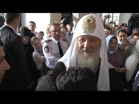 Святейший Патриарх в Рязанском кремле