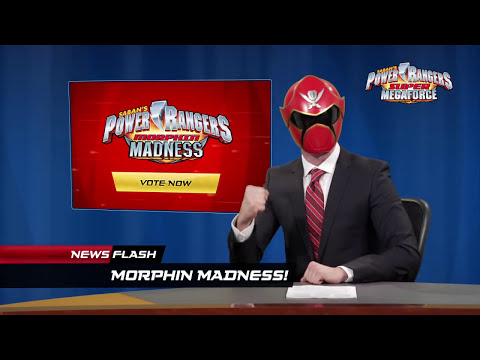 Power Rangers Morphin Madness!
