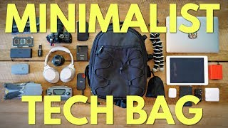 What's in My Minimalist Tech Travel Bag!