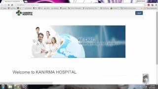 HOSPITAL MANAGEMENT Website Bsc - IT ASP.NET project