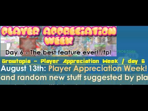 Growtopia - Player Appreciation Week / Day 6