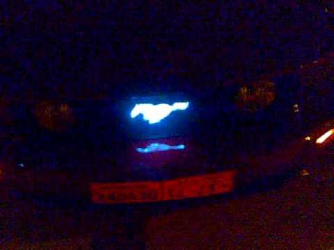 Mustang 2005 Modify Lighting Youtube