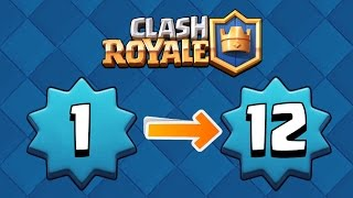 Clash Royale - How to Level Up FAST! Earn XP Easy! Get Epic Cards! Clash Royale Tips & Secrets!