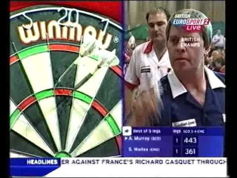 Darts BDO British Internationals 2006 Scotland vs England - Murray vs Waites