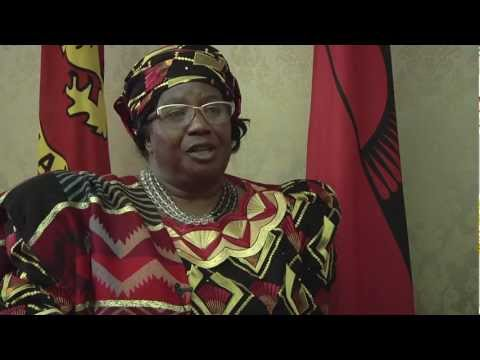 President Joyce Banda on Women's Health & Empowerment in Malawi.