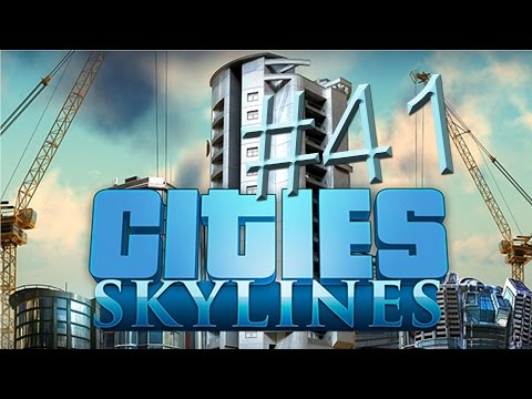 Let's Play Cities Skylines - Part 41 - Cargo harbor