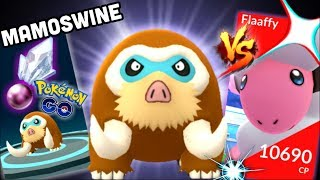 Mamoswine do you need Ancient Power in Pokemon GO | Happiny & Riolu hatch