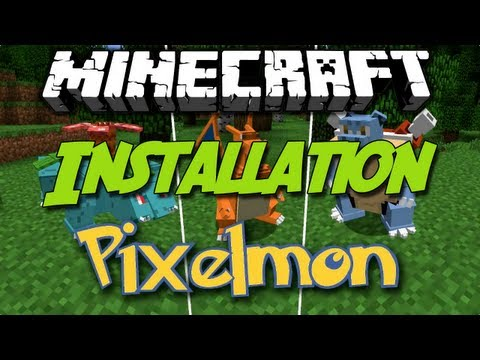 Minecraft [1.4.6] Pixelmon - Mod Review - Installation [German HD]