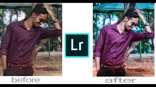#2 retouch with lightroom tutorial