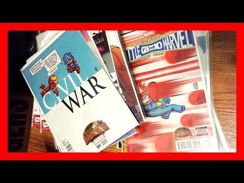 Midtown Comics Unboxing - Skottie Young, Frank Cho Variants - Comic Books