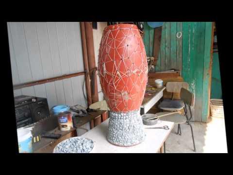 Садовая ваза своими руками мастер класс 32