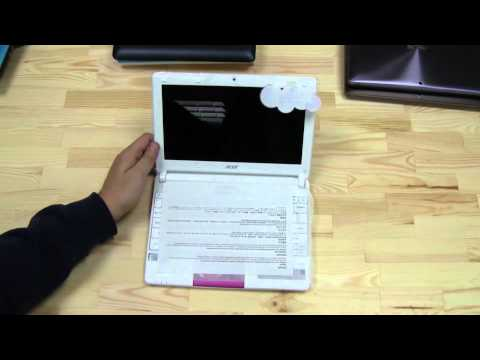Acer Aspire One D270 Unboxing Cedar Trail Netbook