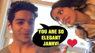 Ishaan Khattar Gets Flirty With Janhvi Kapoor Before Dhadak OfficialTrailer Launch