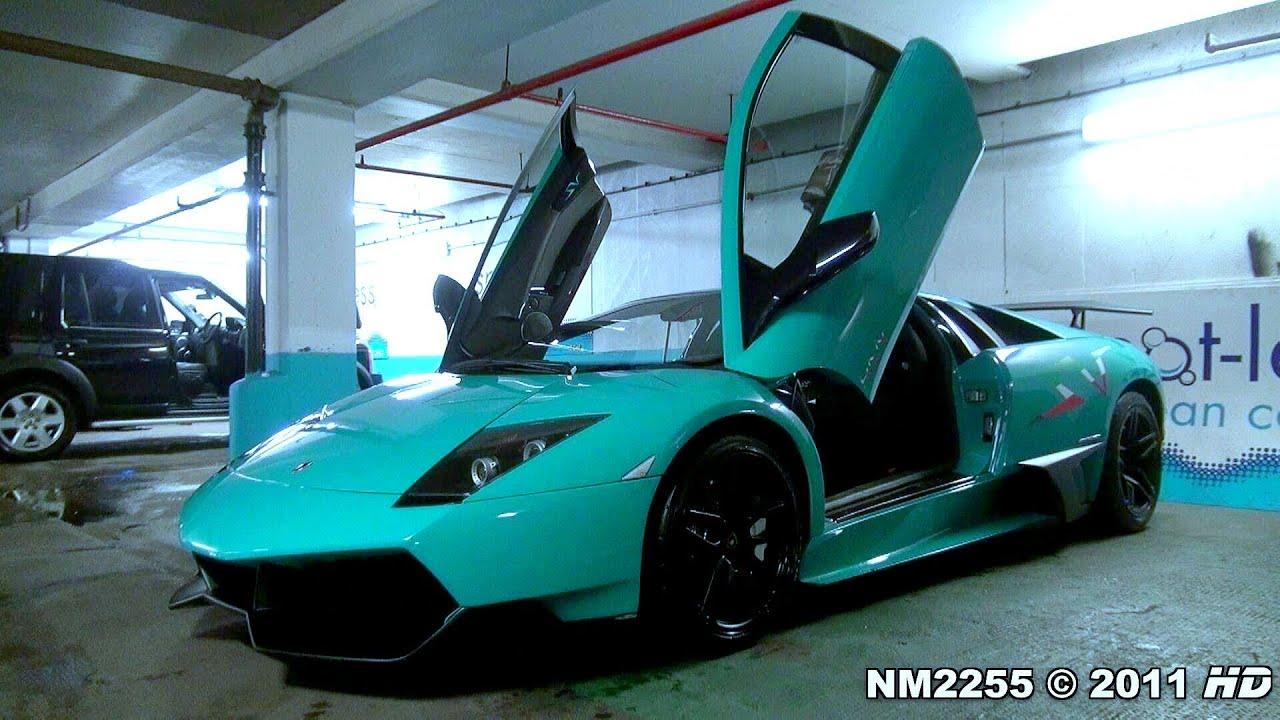 Turquoise Lamborghini Murci 233 Lago Lp670 Sv Start Up Amp Sound