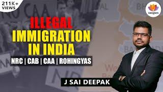 Illegal Immigration In India - A Talk by J Sai Deepak