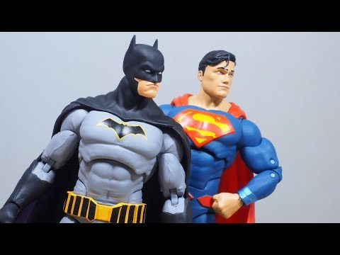DC Icons REBIRTH BATMAN and SUPERMAN figure Reviews