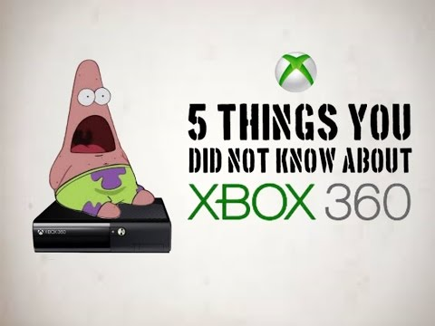 5 THINGS YOU DIDN'T KNOW ABOUT XBOX 360! Helpful Tips and Tricks!