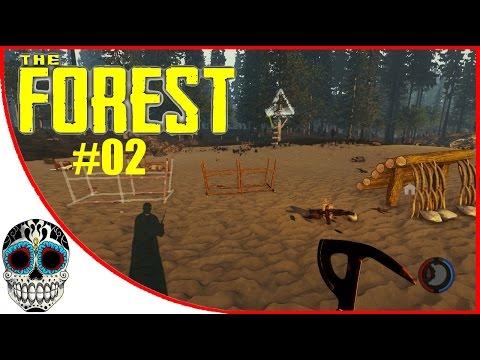 The Forest #02 | Empezando mi base