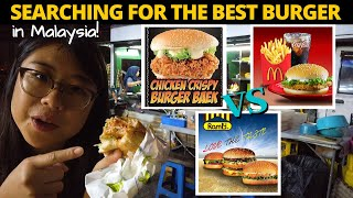Ramly Burger vs Burger Baek vs McDonald's