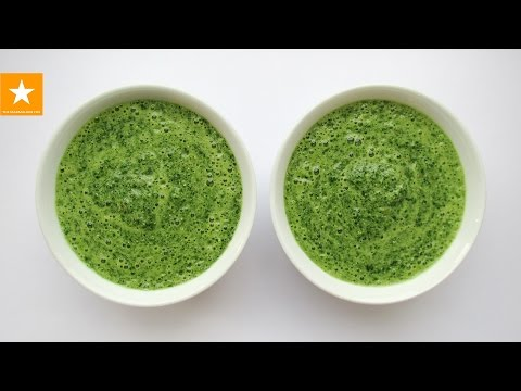 Зеленый коктейль - лекарство от всех болезней! Белковый коктейль с зеленью от Мармеладной Лисицы