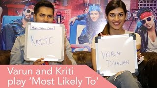 Varun Dhawan & Kriti Sanon Play The