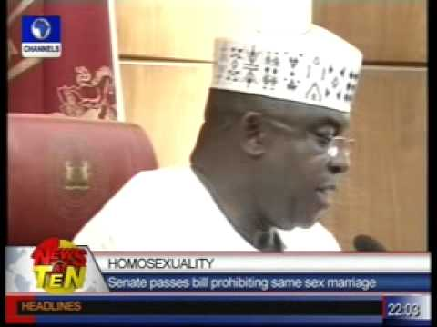Senate passes bill prohibiting same sex marriage