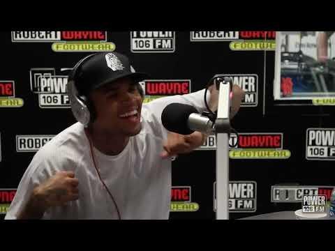 Chris Brown Freestyle: ScHoolboy Q's Studio (EXCLUSIVE)