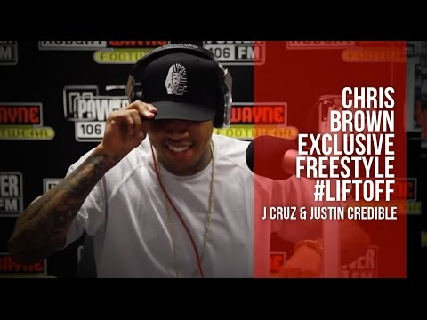 Chris Brown Freestyle -  ScHoolboy Q's Studio (EXCLUSIVE) Power 106FM (Video)