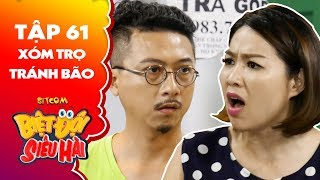 Biệt đội siêu hài| tập 61 - Tiểu phẩm: Lê Khánh tung tin bão về khiến Hứa Minh Đạt hoang mang tột độ