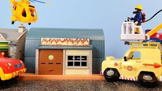 Fireman Sam Arnolds 4x4 Car Crash Episode 31 Firefighter Sam Fire Truck Toys Helicopter Fire Engine