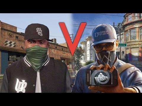 Watch Dogs 2 и GTA 5: чем отличаются их миры?