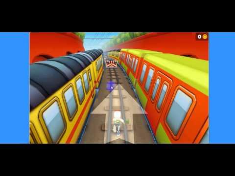 Jugar al Subway Surfer Gratis sin descargar.