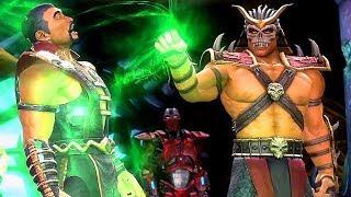 Mortal Kombat Shao Kahn Kills Shang Tsung For Sind