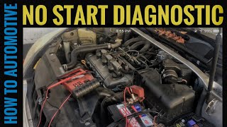 How to Diagnose No Start with No Fuel Injector Pulse on a Lexus and Toyota with a 3.0 L Engine