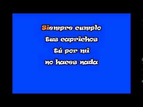 Ay Amor Tu Siempre Ganas Los Bondadosos karaoke