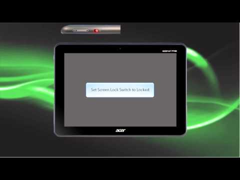 Iconia Tab A200 - How to Perfom a Hard Reset