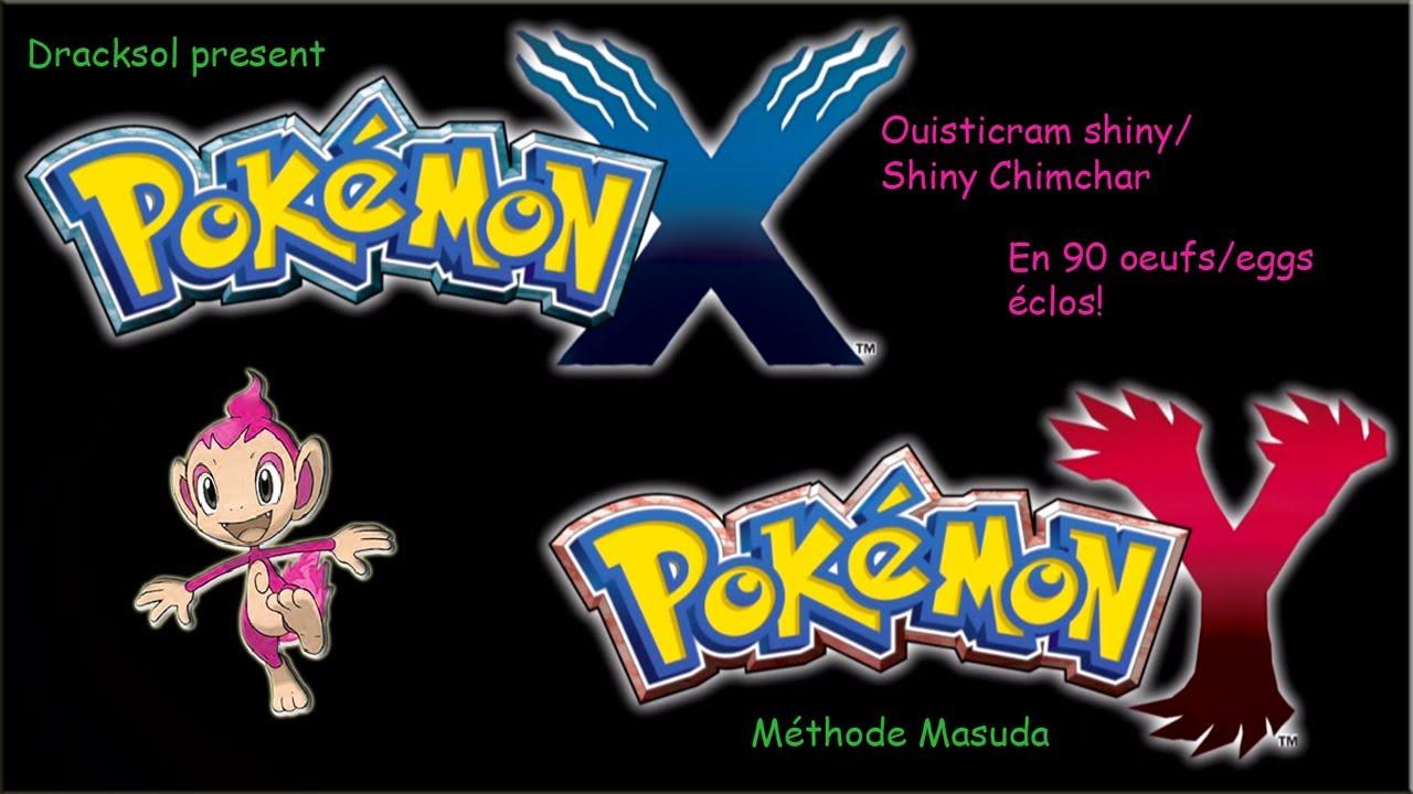 Pok mon y m thode masuda shinyhunting n 10 ouisticram shiny shiny chimchar en 90 oeufs - Pokemon ouisticram ...