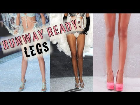 Victoria's Secret Angel Legs Secret!