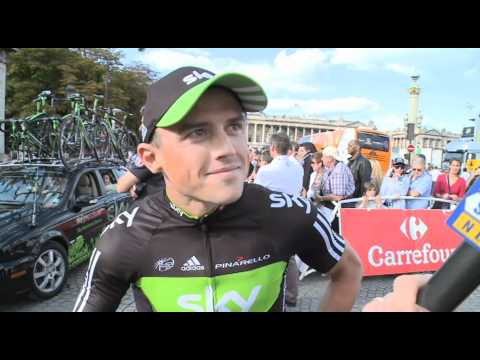 Stage 21 - Simon Gerrans - 2011 Tour de France