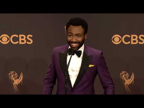 Donald Glover - Emmys 2017 - Full Backstage Interview thumbnail