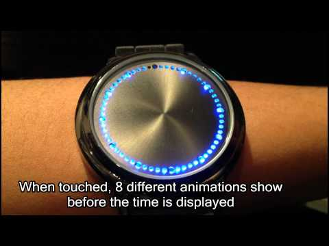 Blue LED Touch Screen Watch (Abyss Japanese Inspired)